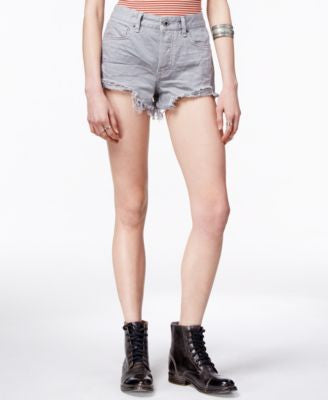 Free People Logan Frayed-Hem Shorts