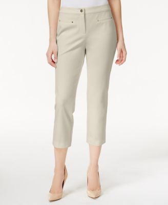Charter Club Stretch Cropped Pants, Only at Vogily