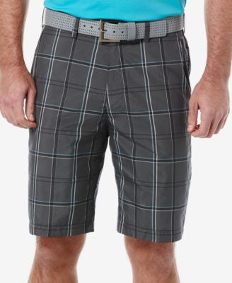 PGA TOUR Men's Plaid Golf Shorts