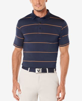 Callaway Men's Striped Performance Golf Polo