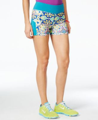 Energie Active Juniors' Sunny Printed Compression Shorts