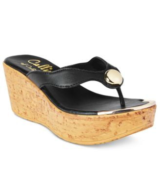 Callisto Belisima Wedge Sandals