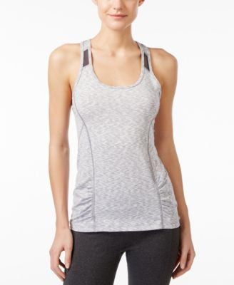Calvin Klein Performance Space-Dyed Racerback Tank Top