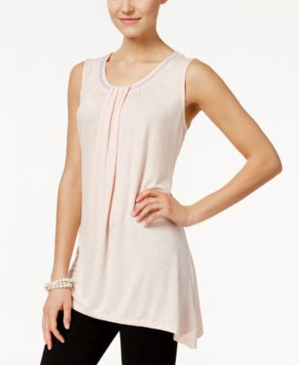 Style & Co. Sleeveless Beaded Top, Only at Vogily