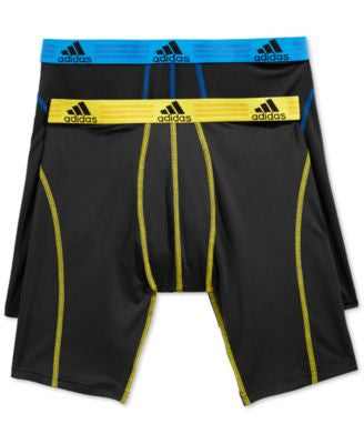 adidas Men's 2-Pk. ClimaLite Performance Midway Briefs
