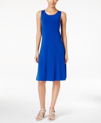 Alfani Sleeveless A-Line Dress, Only at Vogily