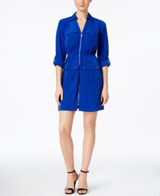 Alfani Utility Shirtdress, Only at Vogily