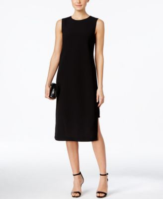 Alfani PRIMA Crepe Overlay Sheath Dress, Only at Vogily