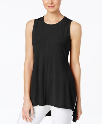 Alfani Sleeveless High-Low Top, Only at Vogily