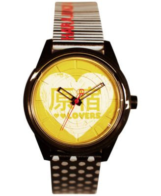 Harajuku Lover Unisex Black and White Printed Hearts Designed by Gwen Stefani 40mm HL2613