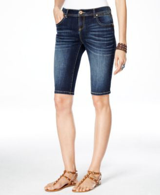 INC International Concepts Daisy Wash Bermuda Shorts, Only at Vogily