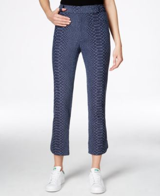 RACHEL Rachel Roy Printed Ankle Pants