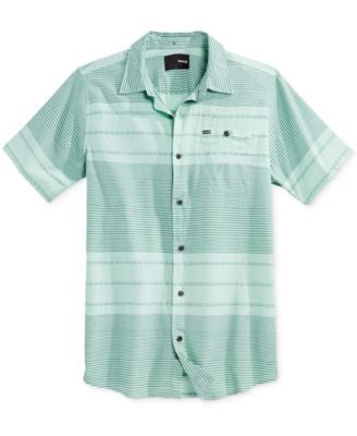 Hurley Men's Vyga Woven Short Sleeve Shirt