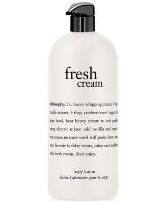 philosophy fresh cream body lotion, 32 oz