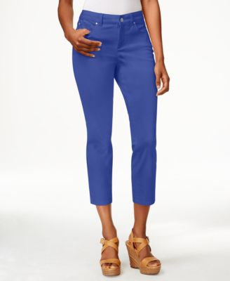 Charter Club Bristol Denim Capri Pants