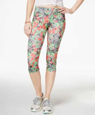 Energie Active Juniors' Paula Printed Cropped Leggings