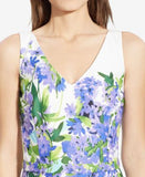 Lauren Ralph Lauren Petite Floral-Print Sateen Dress