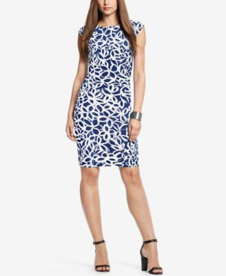 Lauren Ralph Lauren Geometric-Print Jersey Dress