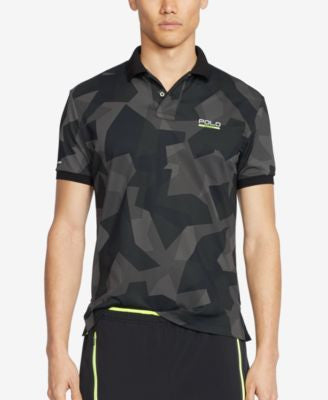 Polo Sport Men's Camo-Print Piqué Mesh Polo Shirt