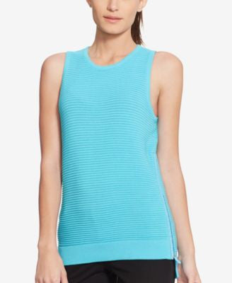 Lauren Ralph Lauren Ribbed Sleeveless Sweater