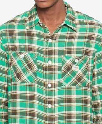 Denim & Supply Ralph Lauren Men's Ward Plaid Twill Shirt