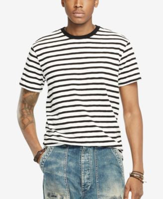 Denim & Supply Ralph Lauren Men's Striped Crew Neck T-Shirt