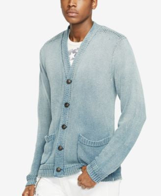 Denim & Supply Ralph Lauren Men's Cotton V-Neck Cardigan