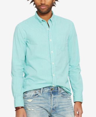 Denim & Supply Ralph Lauren Men's Gingham Poplin Shirt