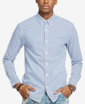 Denim & Supply Ralph Lauren Men's Checked Cotton Oxford Shirt