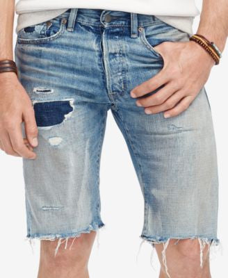Denim & Supply Ralph Lauren Men's Slim-Fit Denim Shorts