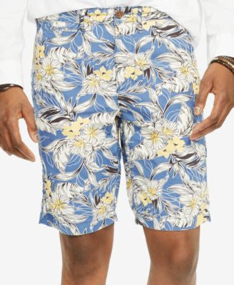 Denim & Supply Ralph Lauren Men's Tropical-Print Cotton Shorts