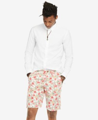 Denim & Supply Ralph Lauren Men's Floral-Print Chino Shorts