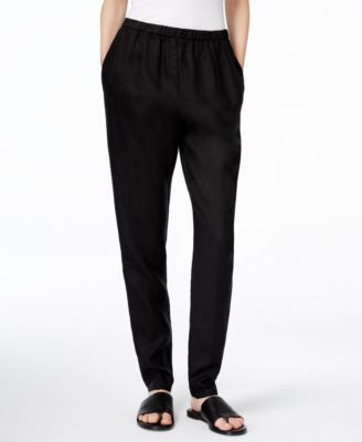 Eileen Fisher Slouchy Relaxed-Fit Pants