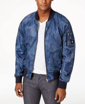 GStar Men's Raw Camouflage Bomber Jacket
