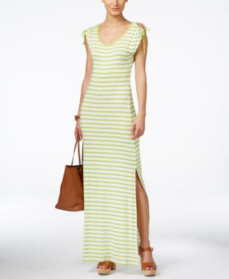 MICHAEL Michael Kors Petite Shoulder-Tie Maxi Dress