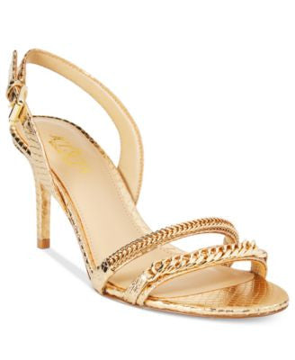 MICHAEL Michael Kors Jackie Mid-Heel Dress Sandals