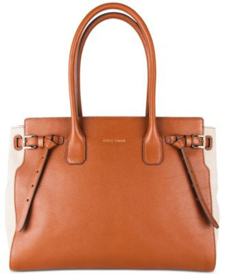 Cole Haan Emery Canvas Satchel