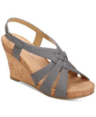 Aerosoles Guava Plush Wedge Sandals