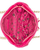 Betsey Johnson Quilted Shoulder Bag