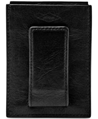 Fossil Men's Ingram RFID-Blocking Leather Card Case