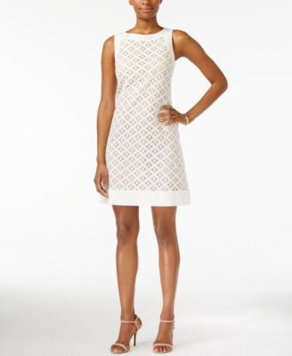 Jessica Howard Sleeveless Lace Sheath Dress