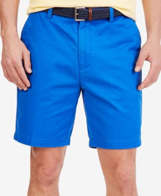 Nautica Big and Tall Men's Flat Front Deck Shorts