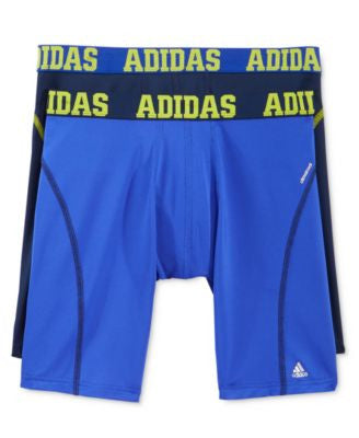 adidas Men's 2-Pk. ClimaLite Performance Boxer Briefs