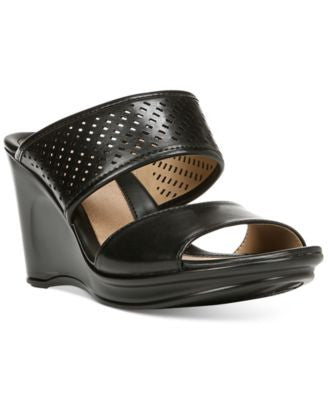 Naturalizer Optic Wedge Sandals