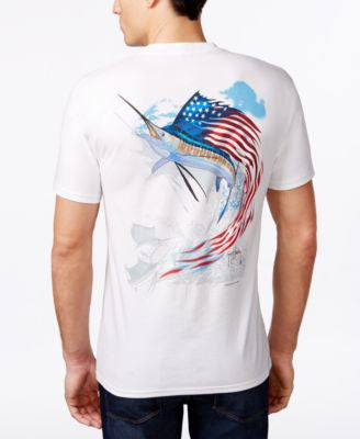 Guy Harvey Men's Star Spangled Guy T-Shirt