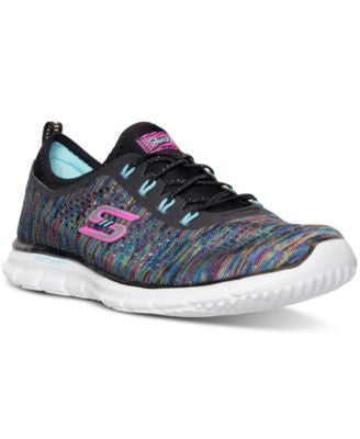 Skechers Women's Stretch Fit: Glider - Deep Space Running Sneakers from Finish Line