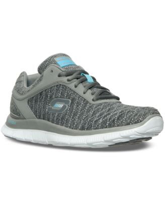 Skechers Women's Flex Appeal - Eye Catcher Running Sneakers from Finish Line