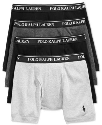 Polo Ralph Lauren 3-Pack Boxer Briefs +1 Bonus Pair