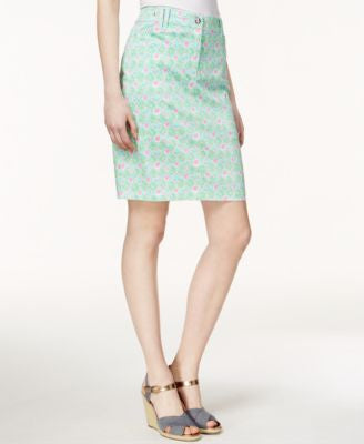 Charter Club Diamond-Print Skort, Only at Vogily