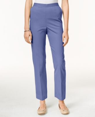 Alfred Dunner Pull-On Cropped Pants